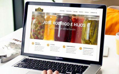 ¡Bienvenidos a la página web de José Rodrigo e hijos!