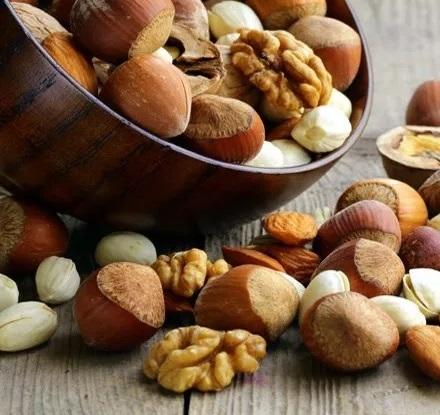 Los frutos secos y sus propiedades