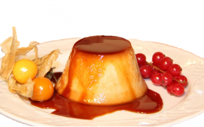 Flan de membrillo