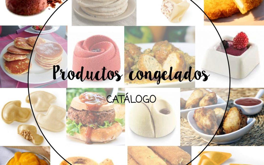 Catálogo de productos congelados