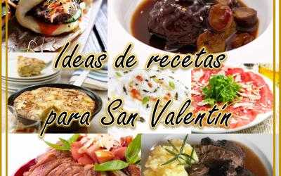 Ideas de recetas para San Valentín