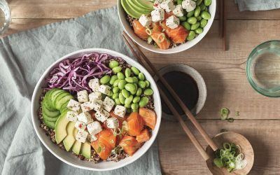 Poke bowl, un plato de lo más saludable