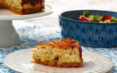 Cheesecake de puerros